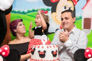 Fotografia bolo de aniversário Minnie
