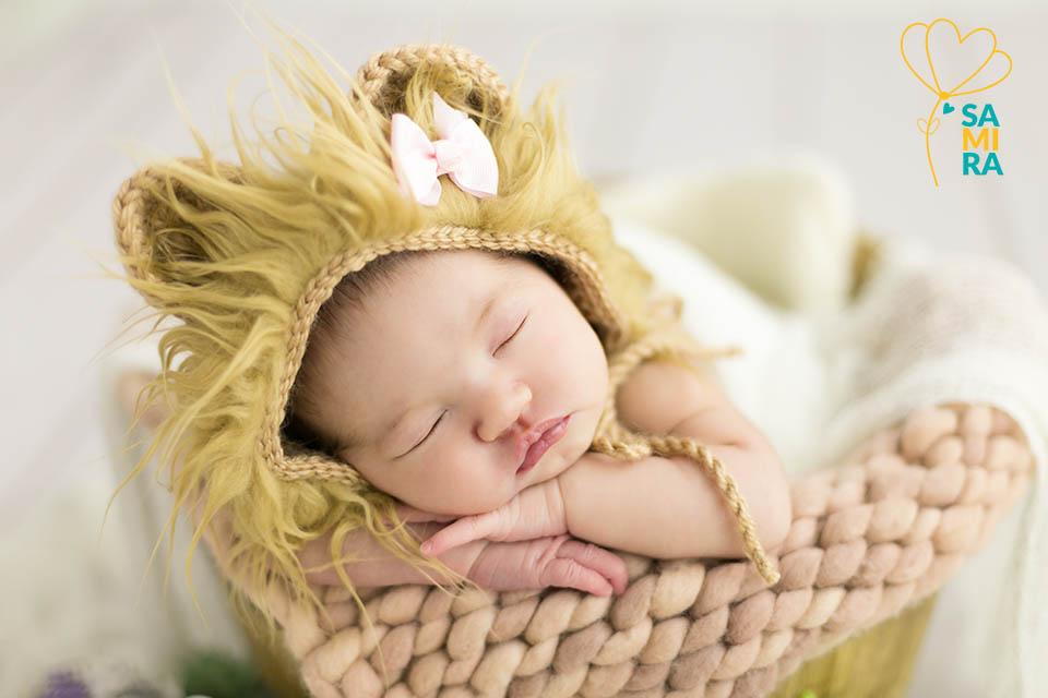 ensaio newborn leao
