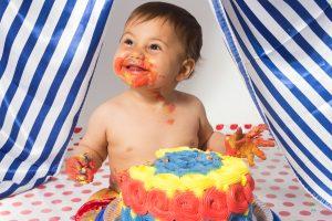 smash the cake bolo