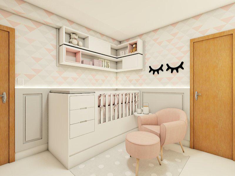 9361f463f8 A decoração de quarto para bebês é a materialização de um sonho para muitas  mamães